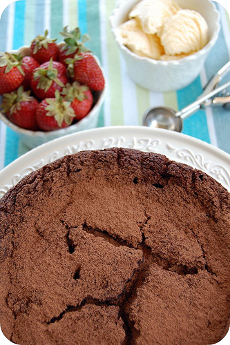 daring-bakers-flourless-chocolate-cake