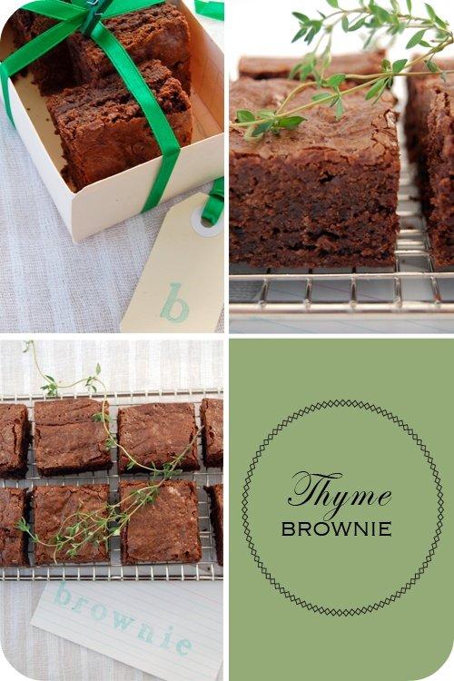 Thyme Brownie