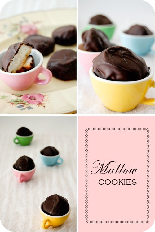 Mallow cookies