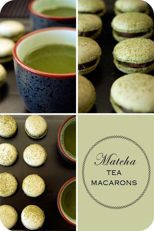 Matcha Tea Macarons