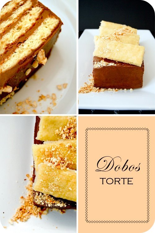 Dobos Torte } from Kaffeehaus by Rick Rodgers