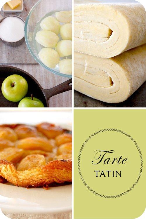 Tarte Tatin (set)