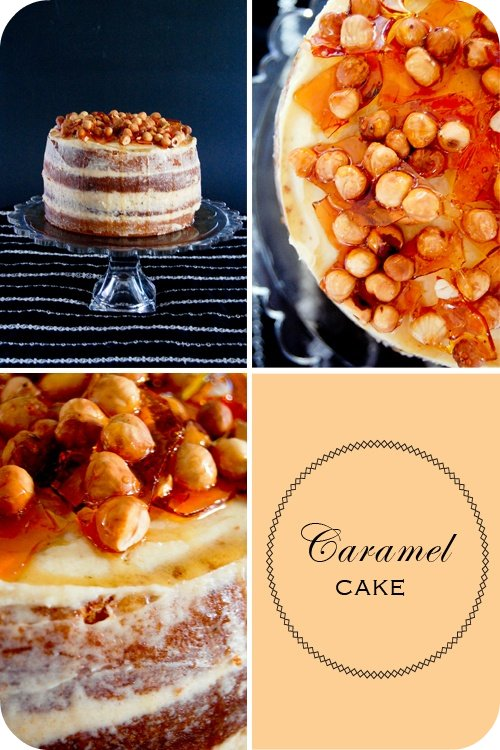Caramel cake (set)