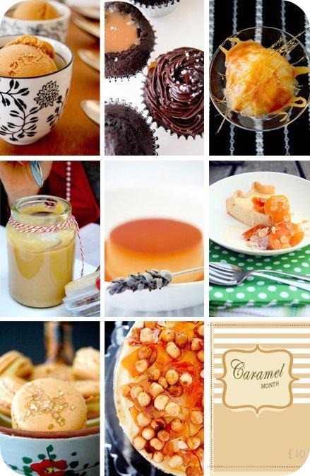 Caramel month roundup