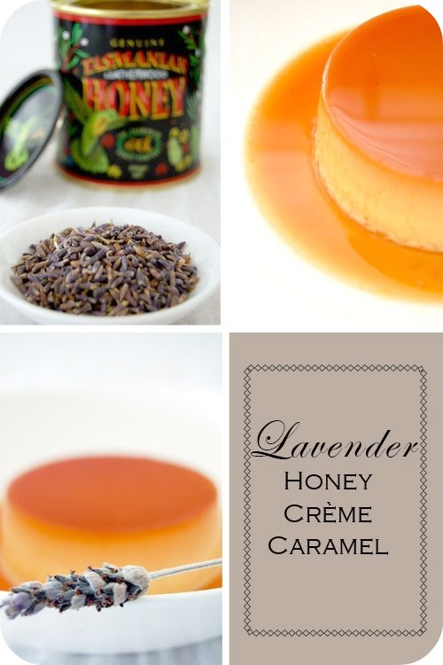 Lavender Honey Creme Caramel