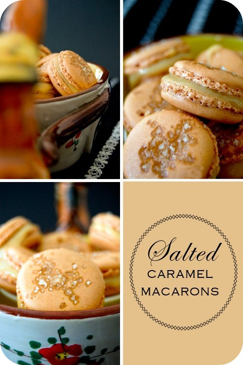 how to make caramel french macarons
